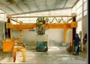 Fabricacion de maquinas diversas para marmoles ,gr