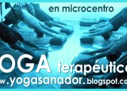 Yoga en microcentro. contracturas, estress.