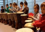 Percusion, clases de percusion infantil y adolesce