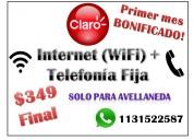 internet + telefonía fija $349 finales