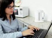 Necesitas trabajar,tenés pc+internet,tenés trabajo