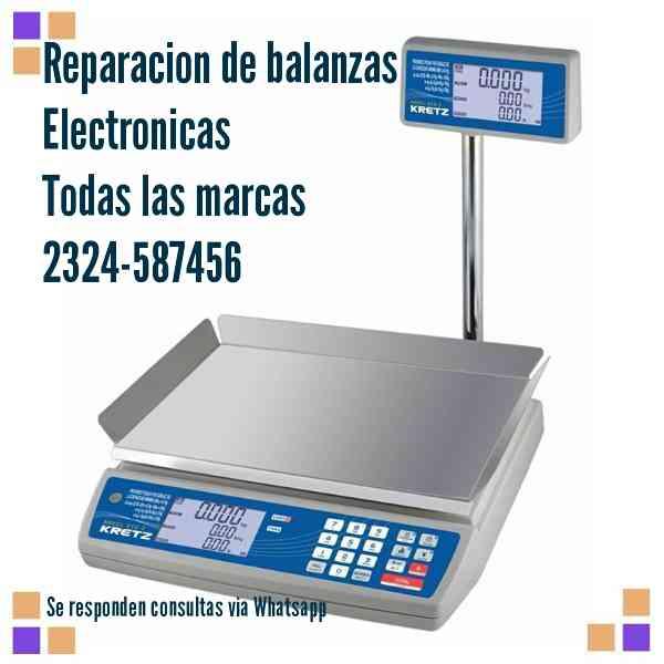 Reparacion de balanzas electronicas.