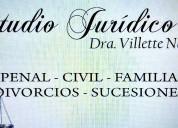 Sucesiones-daÑos-divorcios. abogados en ituzaingo