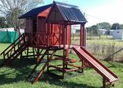 Casas y mangrullos para niños