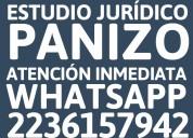 Abogados mar del plata - estudio juridico panizo - 491-5159