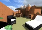 Excelente ph en venta 1 ambientes 60 m2 30 m2 cub