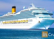Club privado de membresias para viajar en cruceros por el mundo en avellaneda