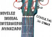 Clases de guitarra personalizadas en rosario