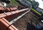Trabajos de construccion en general en posadas
