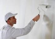 Pintor de obra con experiencia en planchado de paredes en bahía blanca