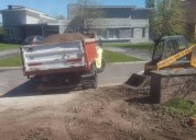 Movimiento de suelo y alquiler de maquinaria