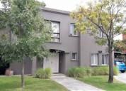 Casa en alquiler en talar del lago ii 3 dormitorios, contactarse.