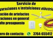 Eléctricista en posadas. oportunidad!.