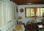 Casa quinta en alq x temp 5 amb 3 dor 700 m2 200 m2.