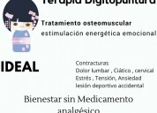 Shiatsu terapia ideal para tension, contracturas,
