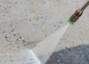 Limpieza con hidrolavado para edificios y empresas