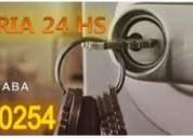 Cerrajeria 24 hs *1554560254* hurlingham urgencias