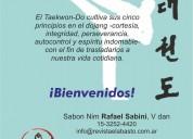 Clases de taekwon-do