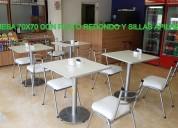 Diaz, mesas y sillas para bar y restaurante.