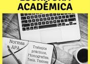 Escritura académica / normas apa
