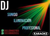 Dj - sonido e iluminacion - proyector y pantalla