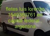 Fletes centro microcentro 1540360761 en capital federal