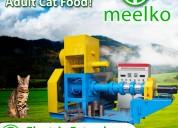 Extrusora para alimentos de gatos mked120b