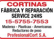 Parque chas. reparacion de cortinas. 15-57557553