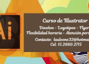 Curso de illustrator - disponibildad horaria