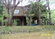 Tigre delta 1o seccion arroyo esperita casa tipica islena 1 dormitorios