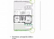 Casa en venta 2 dor 86 m2 78 m2 cub hermosos duplex estilo minimalista barrio cerrado 2 dormitorios