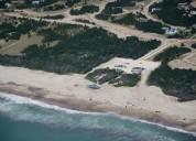 Terreno costa esmeralda en la costa