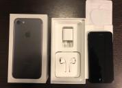 Iphone 7 ((256 gb.)) impecable con 1 año de uso.