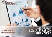 Clases particulares de administración financiera