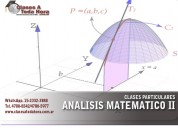Clases particulares análisis matemático ingeniería
