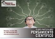 Clases particulares de sociedad y estado / y pensamiento cientifico cbc