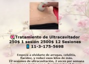 Tratamiento ultracavitación 1sesión 250$ (2500$ 12
