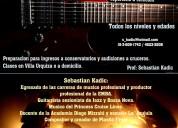 Clases de guitarra, todos los niveles (urquiza)