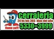 Cerrajeria udaondo 24 hs 5330-3999