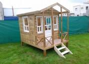 Mangrullos- casitas infantiles de madera