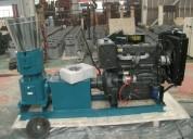 Peletizadora mkfd300a diesel para alfalfas