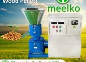 Máquina meelko de hacer pellets mkfd200c