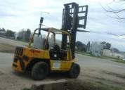 Yale autoelevador diesel, oportunidad, 7 toneladas