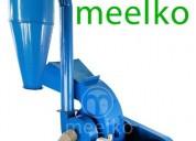 Molino triturador meelko de biomasa hasta 700 kg h