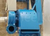 Molino triturador meelko de biomasa mkh500c