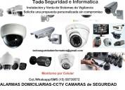 Camaras de vigilancia e informatica venta y repar