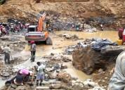 Oro- oro   vendo es aluvion  ley 890 por mayor