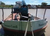 Vendo barco carguero