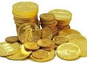 Vendo monedas de oro 24 k  antiguas gran cantidad