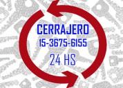 Cerrajería las 24 hs ((1136756155)) casas-autos